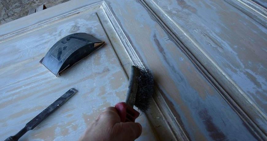 Cómo decapar una puerta de madera