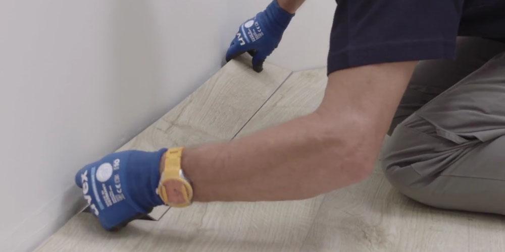 Cómo instalar un suelo vinílico