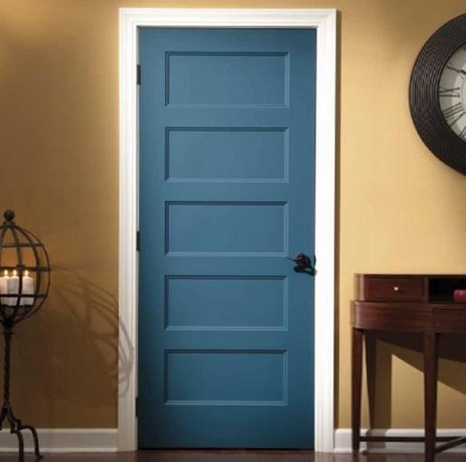 Puertas lacadas en colores