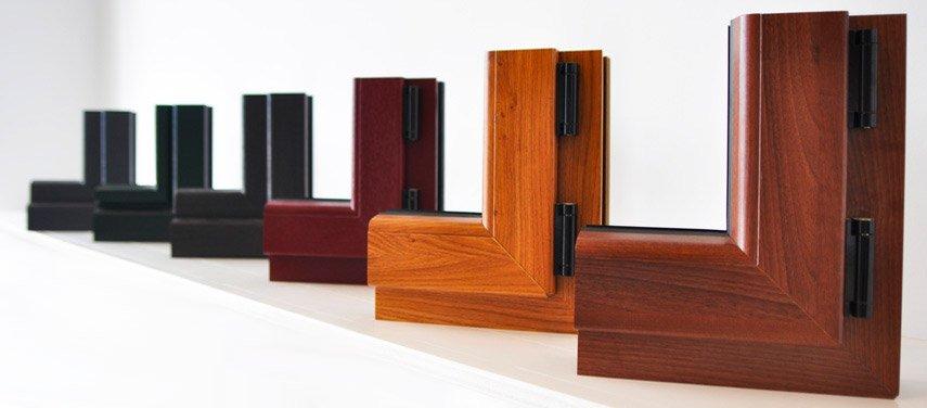 Acabados de nuestras ventanas de madera