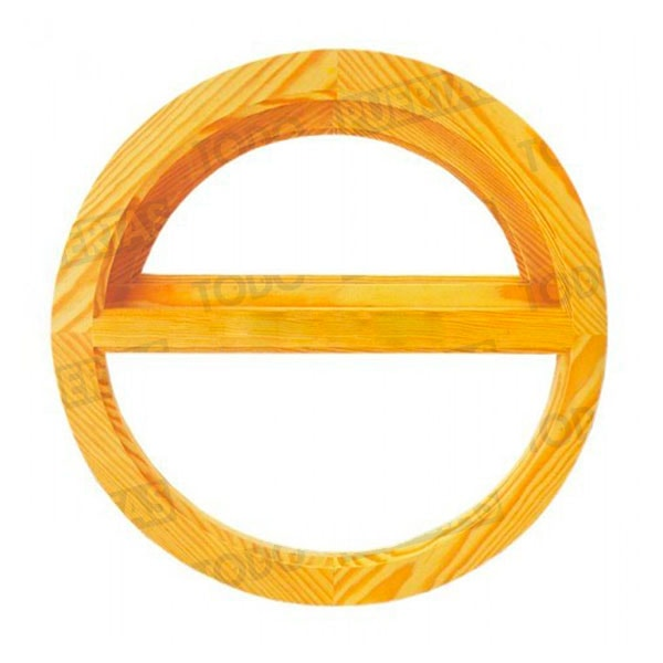 Ventanas de madera ojo de buey