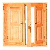 Ventanas de madera ltimas ofertas desde 116 for Ventanas de aluminio baratas online