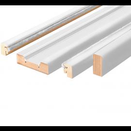 Puertas Baratas y Accesorios para puertas:  Kit de revestimiento blanco para puertas correderas (casoneto)