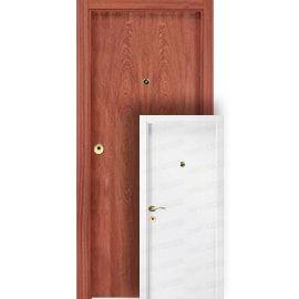 Puertas Baratas y Accesorios para puertas:  Mod. Islandia Sapelly/Kenia BL