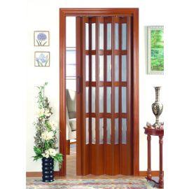 Puertas Plegables de Madera:  Mod. Holanda Zin Serie Vinilo