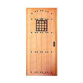 Puertas de Entrada y de Exterior de Madera:  Mod. Nietzsche Rústica