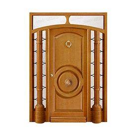 Puertas de Entrada y de Exterior de Madera:  Mod. Althusser