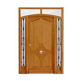 Puertas de Entrada y de Exterior de Madera:  Mod. Arendt