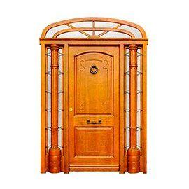 Puertas de Entrada y de Exterior de Madera:  Mod. Bacca