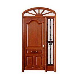 Puertas de Entrada y de Exterior de Madera:  Mod. Foucault