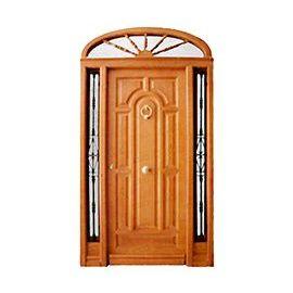 Puertas de Entrada y de Exterior de Madera:  Mod. Hintikka