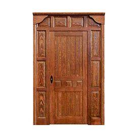 Puertas de Entrada y de Exterior de Madera:  Mod. Hopenhayn