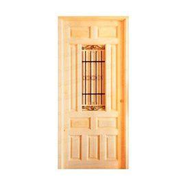 Puertas de Entrada y de Exterior de Madera:  Mod. Husserl