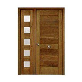 Puertas de Entrada y de Exterior de Madera:  Mod. Kahneman
