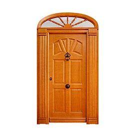 Puertas de Entrada y de Exterior de Madera:  Mod. Khun