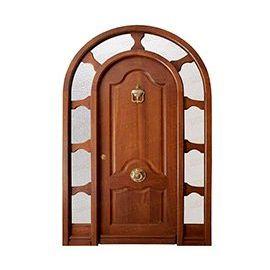 Puertas de Entrada y de Exterior de Madera:  Mod. Kripke