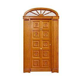Puertas de Entrada y de Exterior de Madera:  Mod. Maillard
