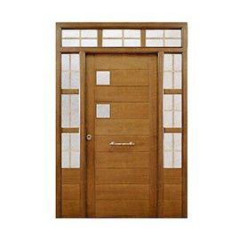 Puertas de Entrada y de Exterior de Madera:  Mod. Marcuse
