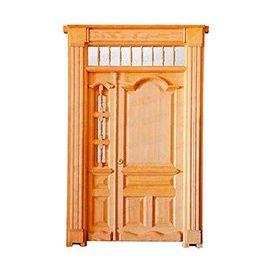 Puertas de Entrada y de Exterior de Madera:  Mod. Nagarjuna