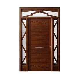 Puertas de Entrada y de Exterior de Madera:  Mod. Pardal