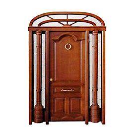 Puertas de Entrada y de Exterior de Madera:  Mod. Raimon