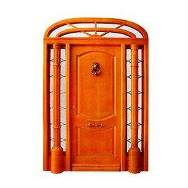 Puertas de Entrada y de Exterior de Madera:  Mod. Savater