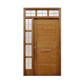 Puertas de Entrada y de Exterior de Madera:  Mod. Wittgenstein