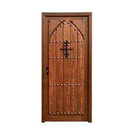 Puertas de Entrada y de Exterior de Madera:  Mod. Escoto