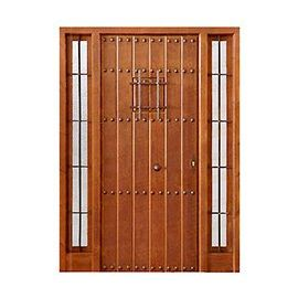 Puertas de Entrada y de Exterior de Madera:  Mod. Russell