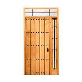 Puertas de Entrada y de Exterior de Madera:  Mod. Warburton