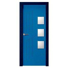 Puertas de Interior de Madera:  Mod. Abuya BZV3L