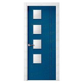 Puertas de Interior de Madera:  Mod. Chicago BV4L