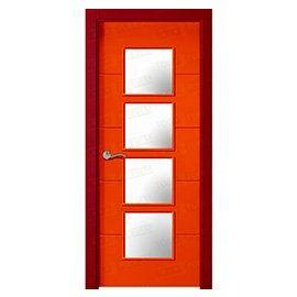 Puertas de Interior de Madera:  Mod. Dalian BV4