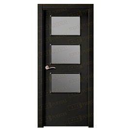 Puertas de Interior de Madera:  Mod. Lesoto BZV3