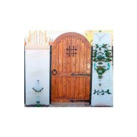 Puertas de Entrada y de Exterior de Madera:  Mod. Bricklin