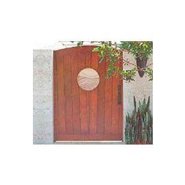 Puertas de Entrada y de Exterior de Madera:  Mod. Checker