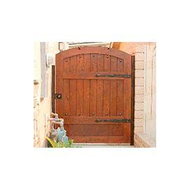 Puertas de Entrada y de Exterior de Madera:  Mod. Darracq