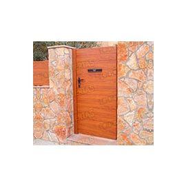 Puertas de Entrada y de Exterior de Madera:  Mod. Siata