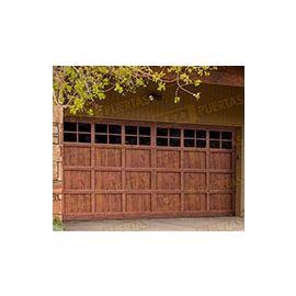 Puertas de Entrada y de Exterior de Madera:  Mod. Winton