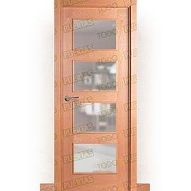Puertas Baratas y Accesorios para puertas:  Puerta Block de Alta Calidad Mod. Acrópolis Haya BV4