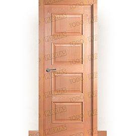 Puertas Baratas y Accesorios para puertas:  Puerta Block de Alta Calidad Mod. Acrópolis Haya