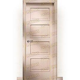 Puertas Clásicas de Madera:  Puerta Block de Alta Calidad Mod. Acrópolis