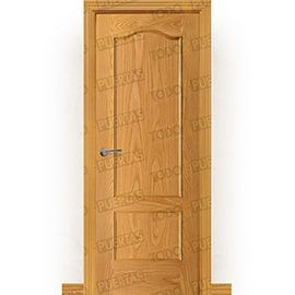 Puertas Clásicas de Madera:  Puerta Block de Alta Calidad Mod. Ballbek
