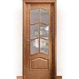 Puertas Clásicas de Madera:  Puerta Block de Alta Calidad Mod. Big Ben V6