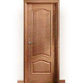 Puertas Clásicas de Madera:  Puerta Block de Alta Calidad Mod. Big Ben