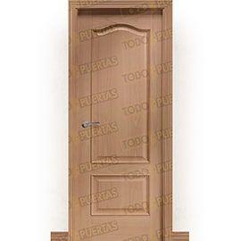 Puertas Clásicas de Madera:  Puerta Block de Alta Calidad Mod. Chichen Itza