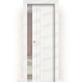 Puertas de Interior de Madera:  Puerta Corredera con Obra Mod. Castellón