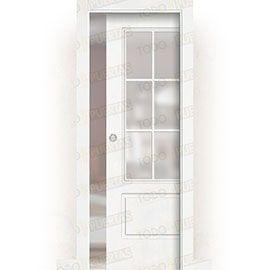 Puertas Baratas y Accesorios para puertas:  Puerta Corredera con Obra Mod. Gabón V6