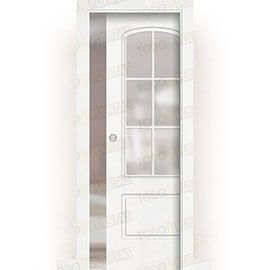 Puertas de Interior de Madera:  Puerta Corredera con Obra Mod. Ghana V6