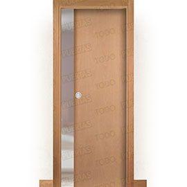 Puertas Baratas y Accesorios para puertas:  Puerta Corredera con Obra Mod. Islandia Haya